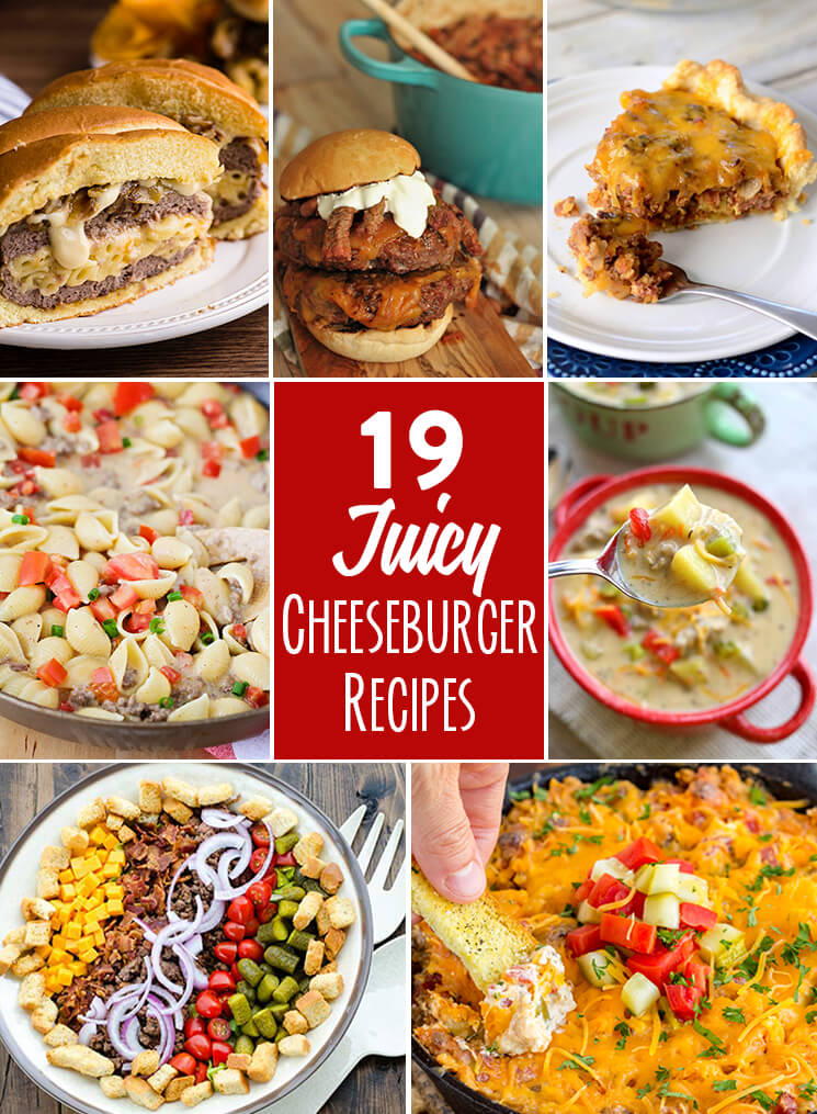 19 Delicious Cheeseburger Recipes!