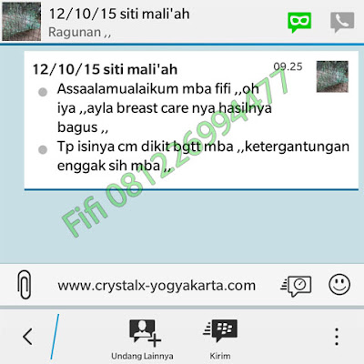 Testimoni Ayla Breast Care Asli