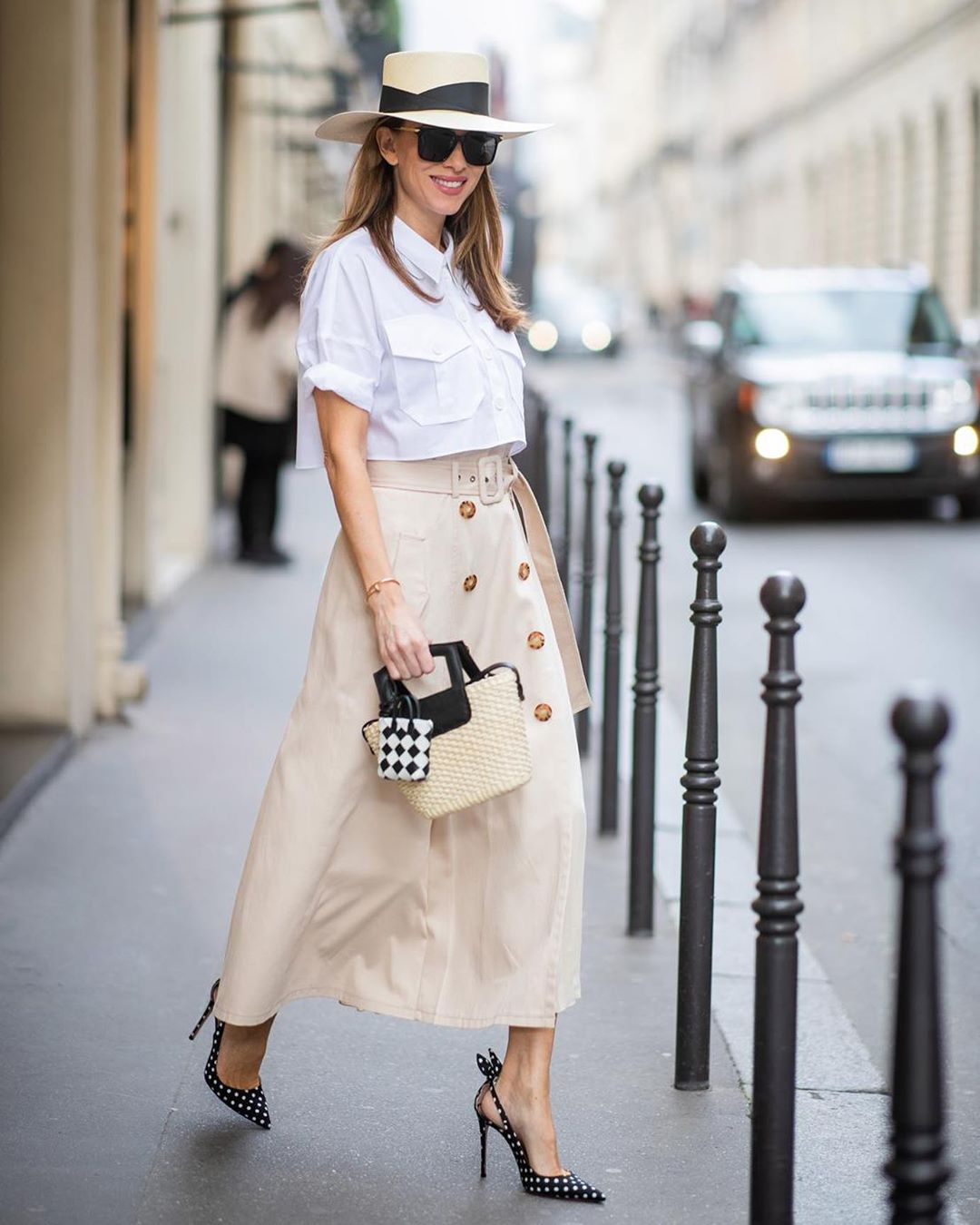A Chic Midi Skirt Outfit You'll Want to Wear On Repeat