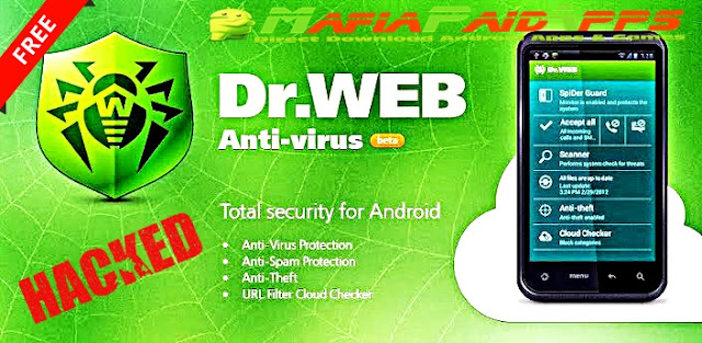 Dr Web Security Space Life Apk + Key for Android | MafiaPaidApps com