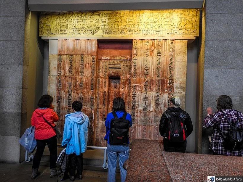 Seção da Ásia no Museu Britânico em Londres