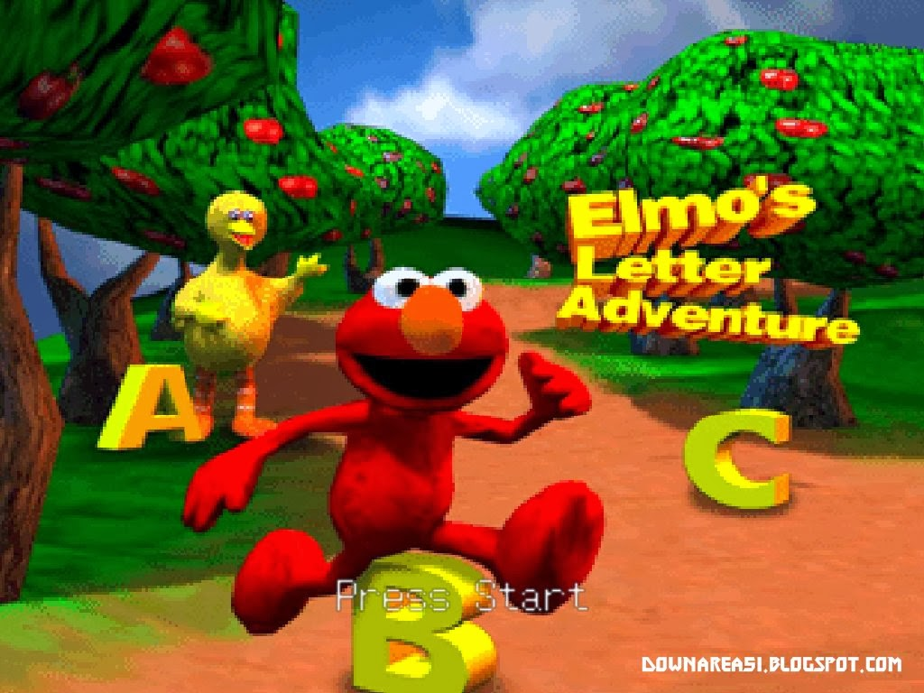 Elmo's Letter Adventure Nintendo 64 Keren
