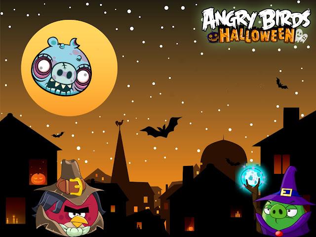 angry birds halloween lasupermamy
