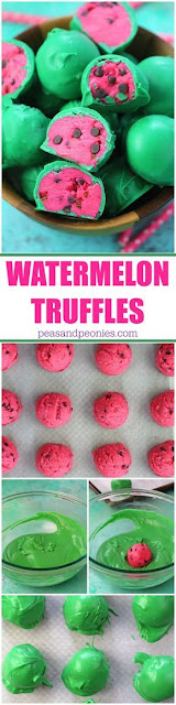Watermelon Truffles