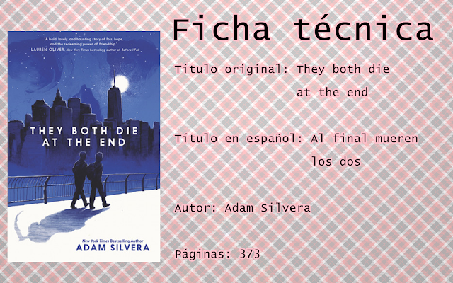 """Reseña: """"They both die at the end"""""""