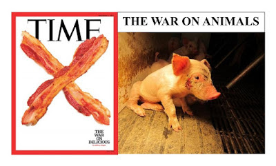 Time Magazine, The War on Delicious; The Vegan Vine, The War on Animals