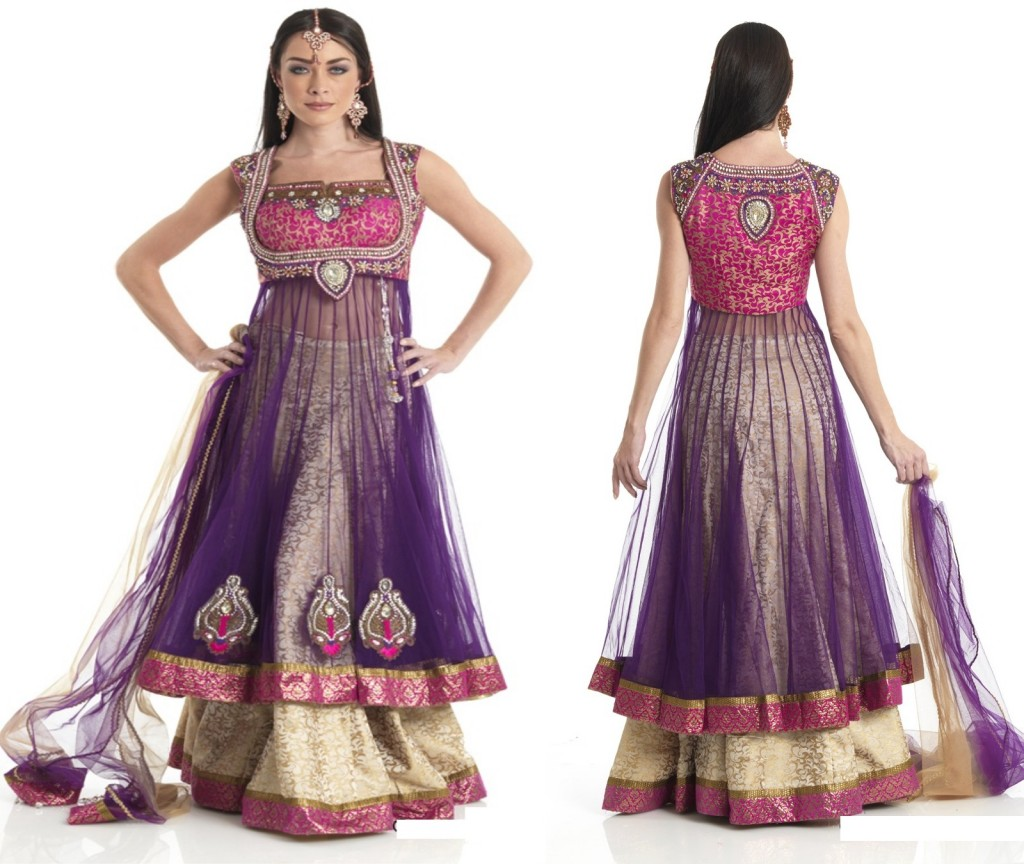 New Anarkali Designs Fashion Clothes For Girls ...