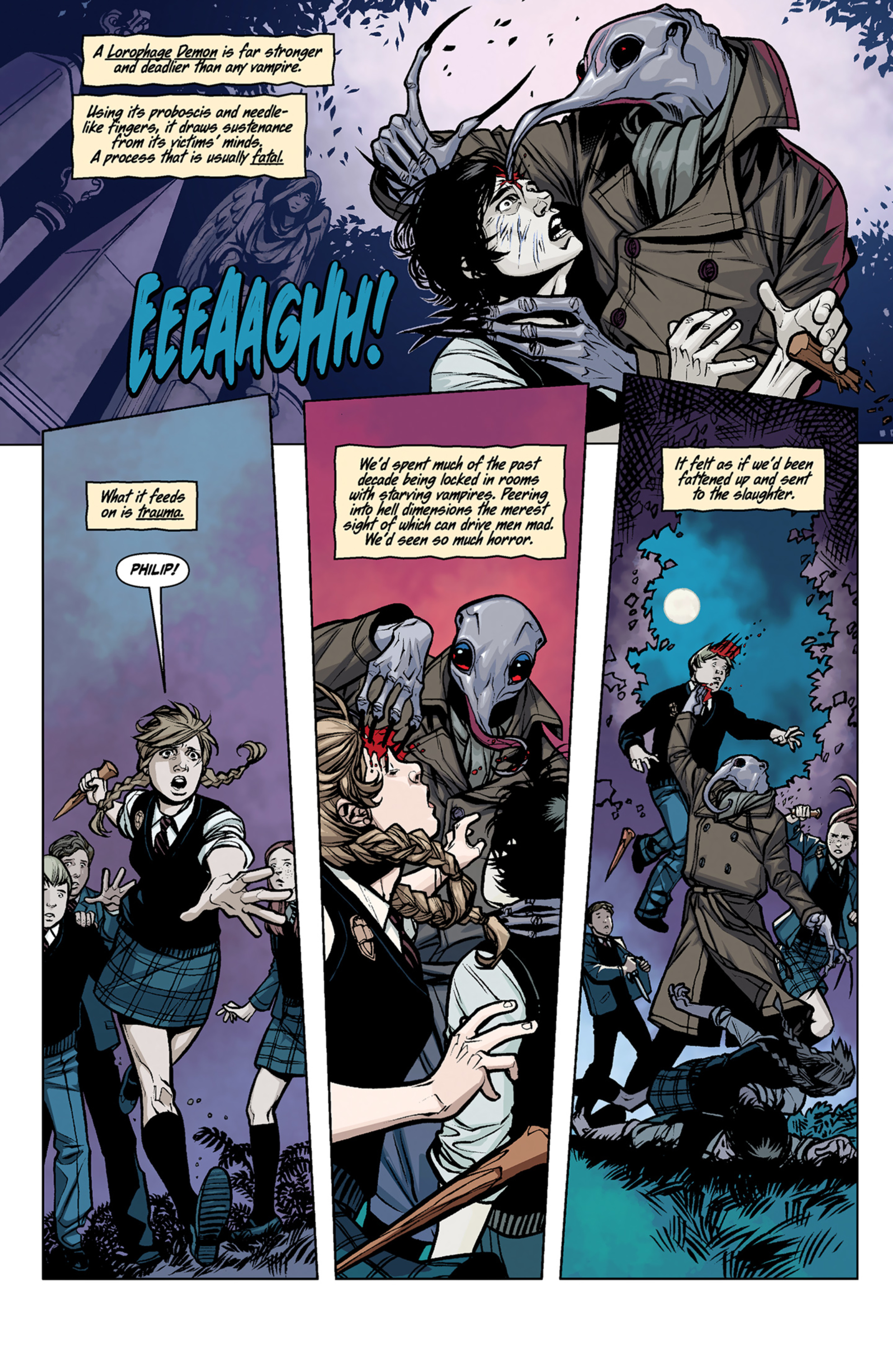 Read online Angel and Faith comic -  Issue #6 - 11
