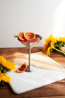 Peach and Nectarine Holiday Cocktail Recipe