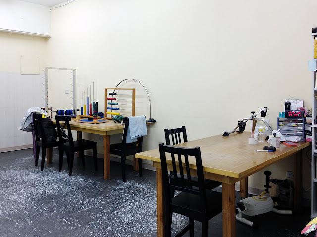 好痛痛 適群復健科診所 台北市 大安區 職能治療 器材 成功國宅內