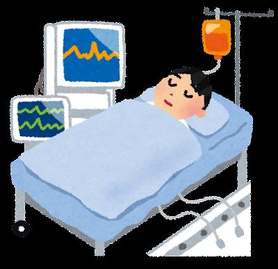 集中治療室・ICUのイラスト