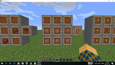 minecraft crafting üveglap