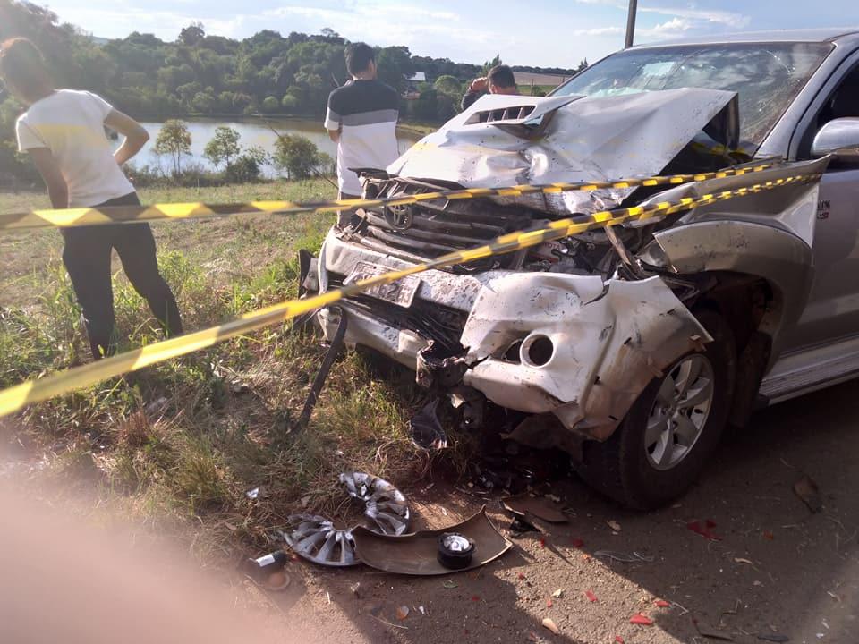 Tragédia neste domingo- 6 pessoas morrem em acidente no município de Campos Novos