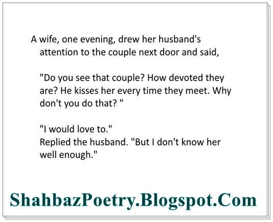Husband Wife Love English Funny Jokes Shahbazpoetry All