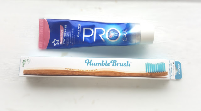 Cruelty-free toothpaste & Humble Brush