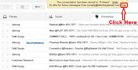 move emails from promotions to primary