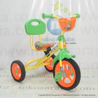 Sepeda Roda Tiga BMX PMB 919S Safari Sandaran Orange