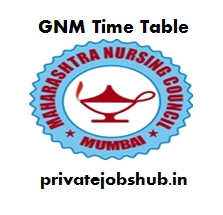 GNM Time Table