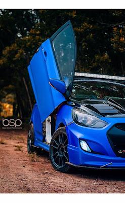 Hyundai Verna Blue Bee Edition with Scissor Door