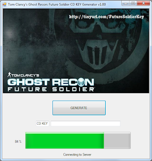 Generator download future recon soldier ghost free cd key