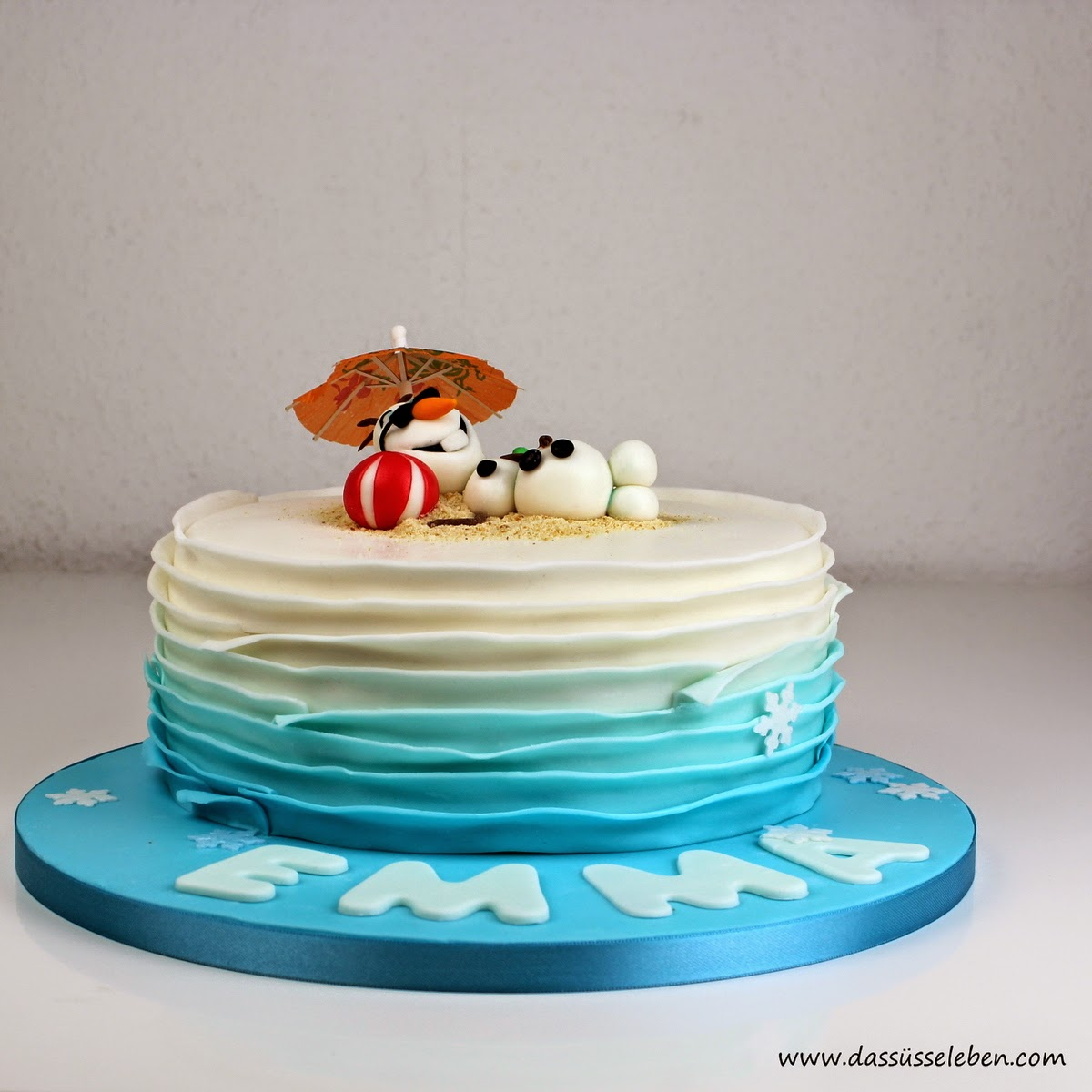 Rezept Olaf im Sommer (Eisknigin Torte)   Das se Leben