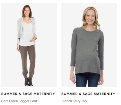 summer and sage maternity, le tote,