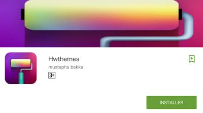 Hwthemes app