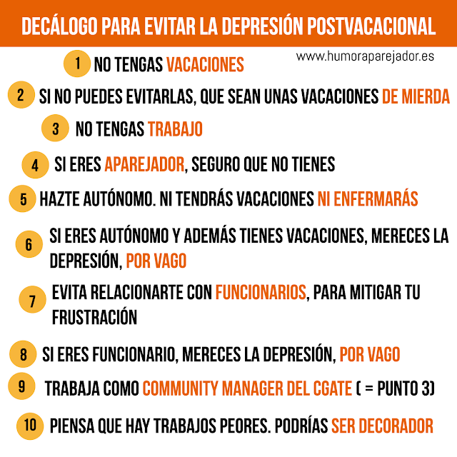 evitar la depresión postvacacional