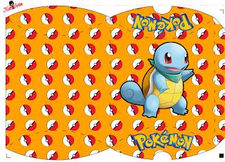 Cajas Almohada de Pokemon para Imprimir Gratis.
