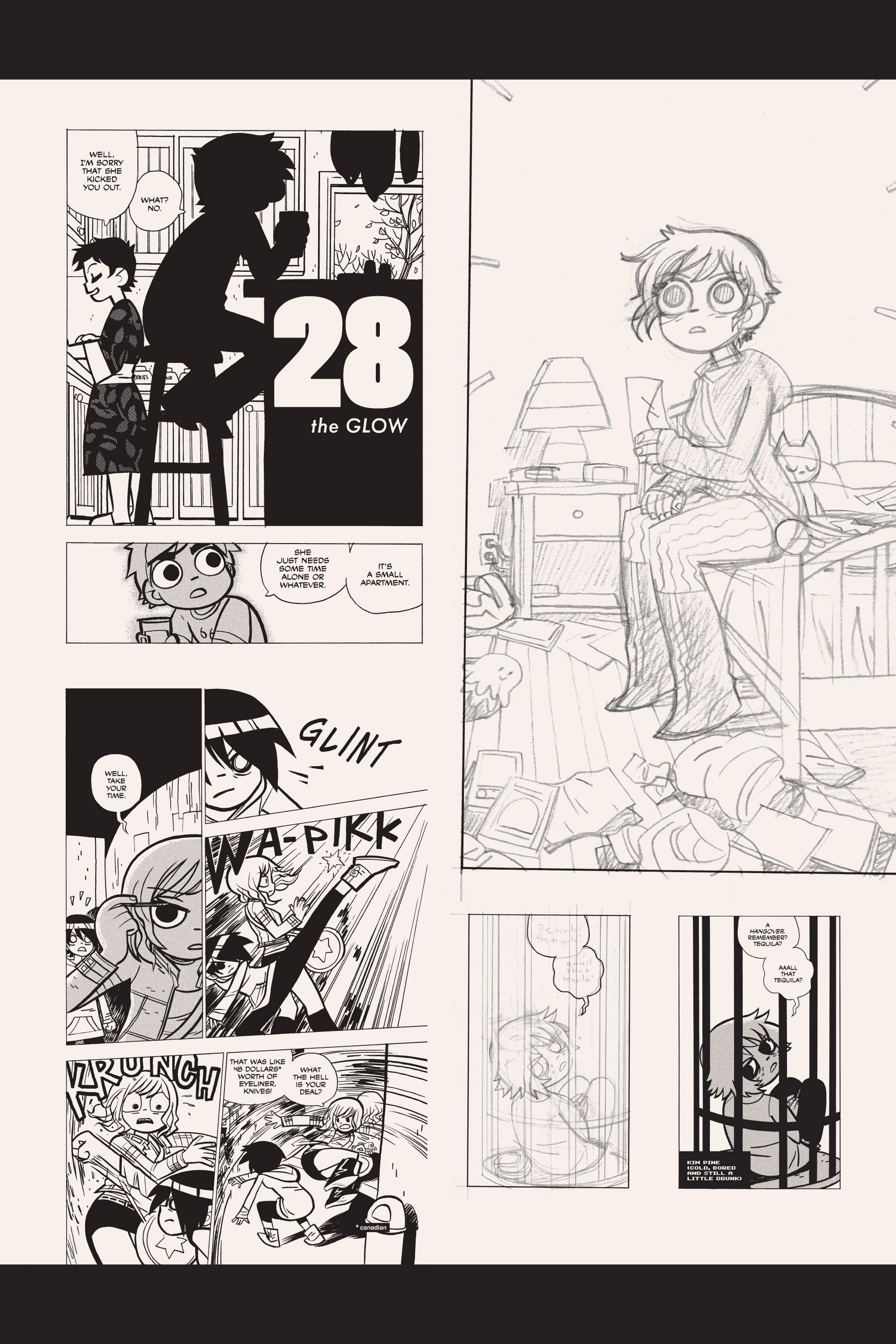 Read online Scott Pilgrim comic -  Issue #5 - 199