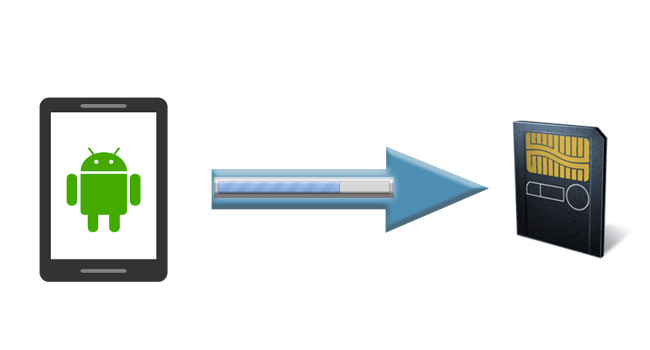 Telefonun Dahili Hafızasındaki Uygulamayı SD Karta Taşıyın