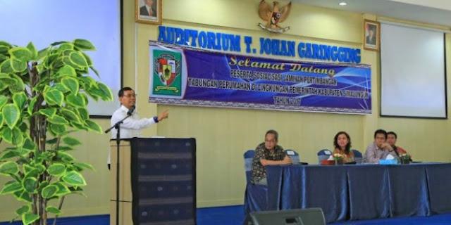 Pengelolaan Keuangan Tak Becus, Bupati JR Malah Berjanji Bangun Rumah ASN