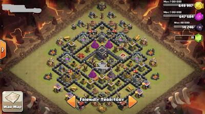 Base Anti Valkyrie th 9