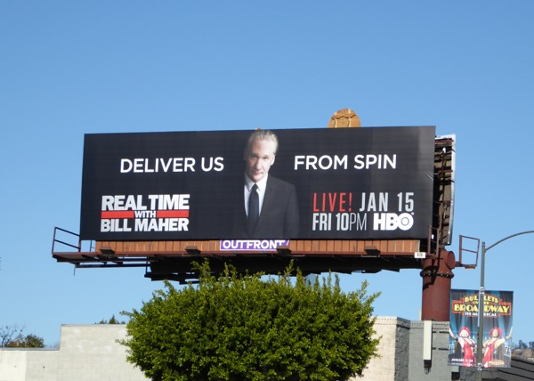 Real Time with Bill Maher season 14 billboard