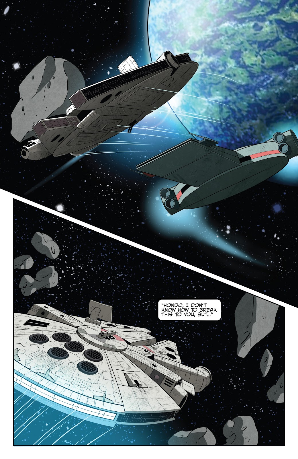 Read online Star Wars Adventures: Flight of the Falcon comic -  Issue # Full - 12