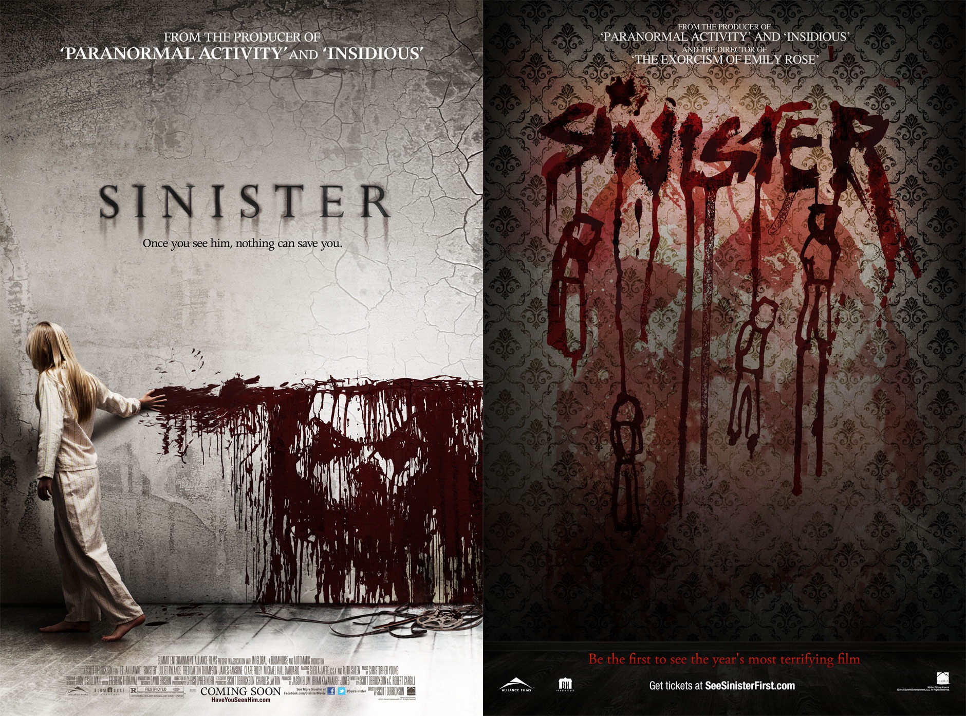 2012 Movie Poster: Sinister (2012):The Lighted