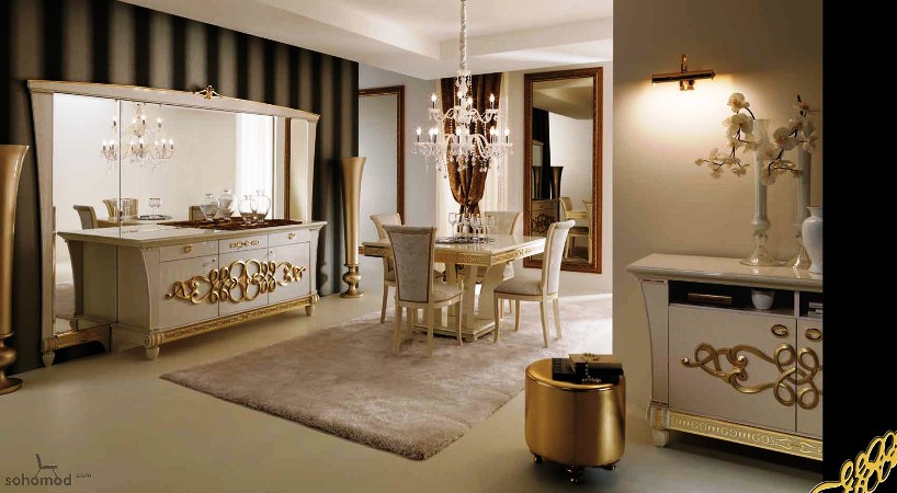 High end italian dining room furniture best furniture for High end dining room furniture
