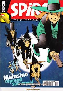 Spirou Hebdo, Mélusine reprend son envol, numéro 3631, année 2007
