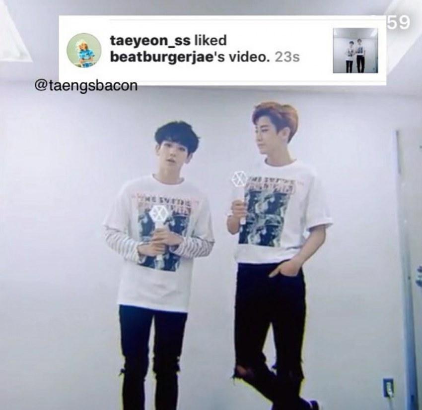 taeyeon baekhyun datování netizenbuzz Chci webovou stránku s dítětem