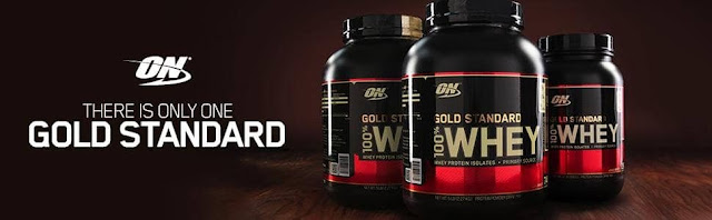 1- ON Gold Standard 100% Whey Protein