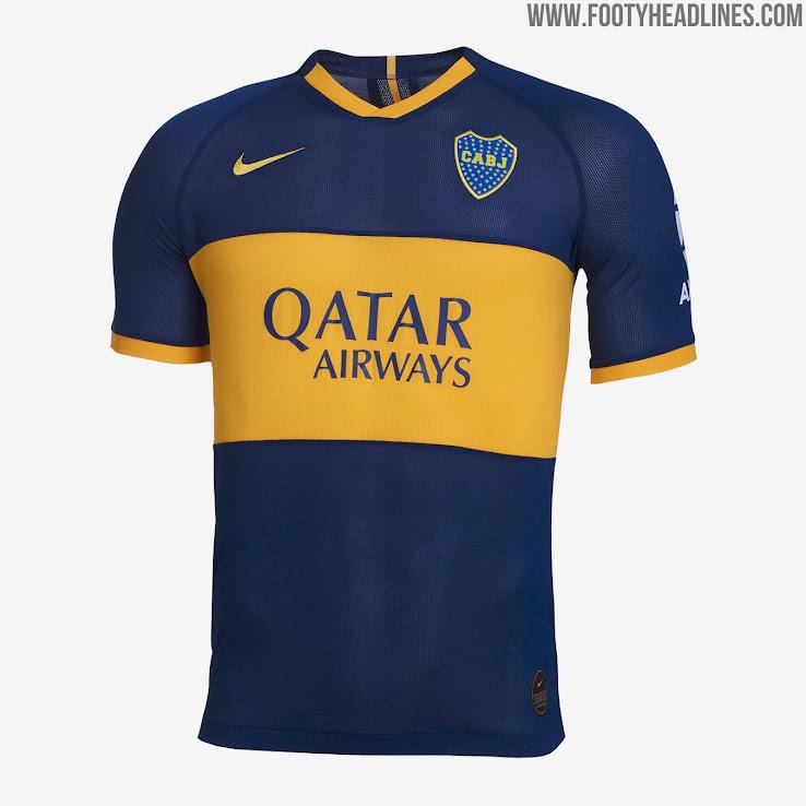 sports shoes cd96f 0184a Boca Juniors 19-20 Heimtrikot Veröffentlicht - Nur Fussball