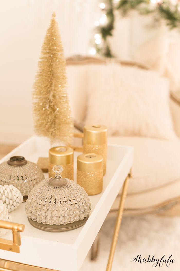 gold christmas metallic