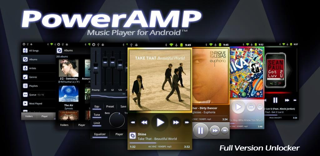 dp3dENP PowerAMP Music Player (Full) v2.0-Build-565 APK Download Mods