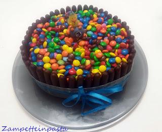 Torta M & M's e Togo - Torta compleanno per bambini