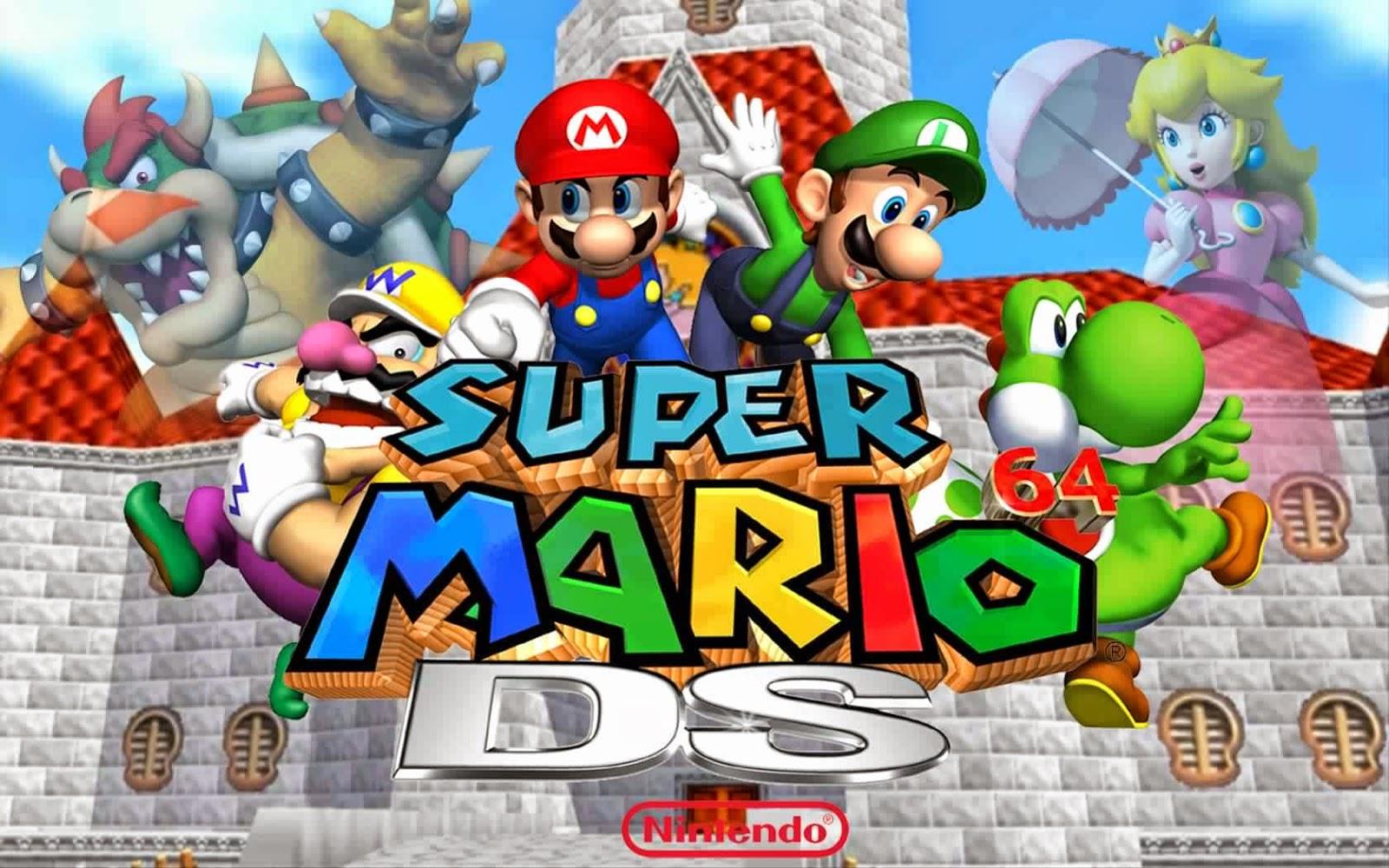 تحميل لعبة super mario 64 للكمبيوتر