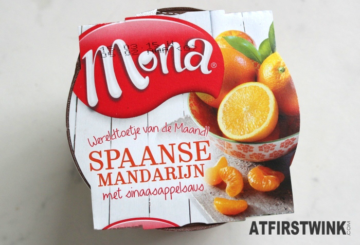 Review: Mona Spanish tangerine with orange sauce | Spaanse Mandarijn met sinaasappelsaus