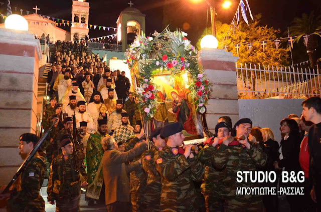 Το πρόγραμμα εορτασμού του Ευαγγελισμού της Θεοτόκου στο Ναύπλιο παρουσία του Αρχιεπισκόπου Αθηνών