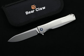 Bear Claw P60 ti handle s35vn blade