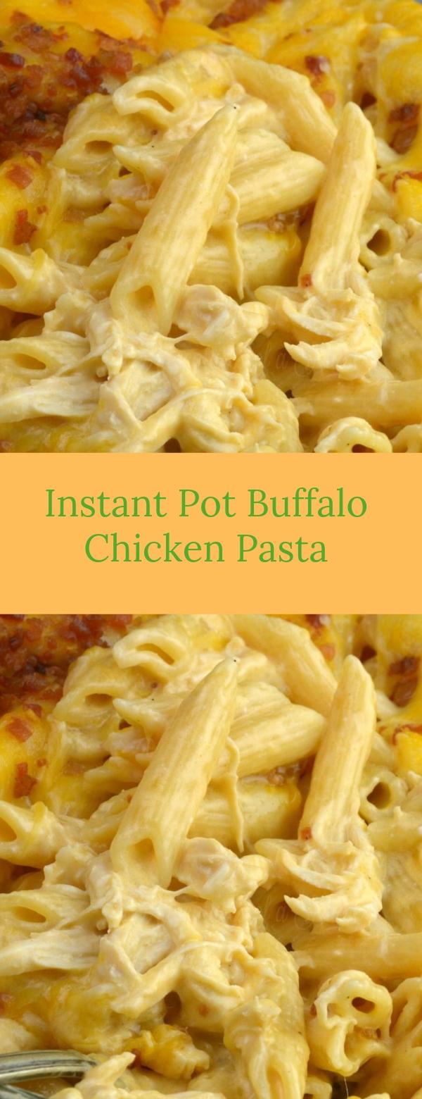 Instant Pot Buffalo Chicken Pasta #PASTA #CHICKEN #INSTANPOT