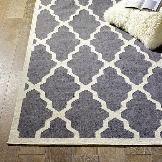 Modern DIY: A Rug for my office----to paint a rug or not ...